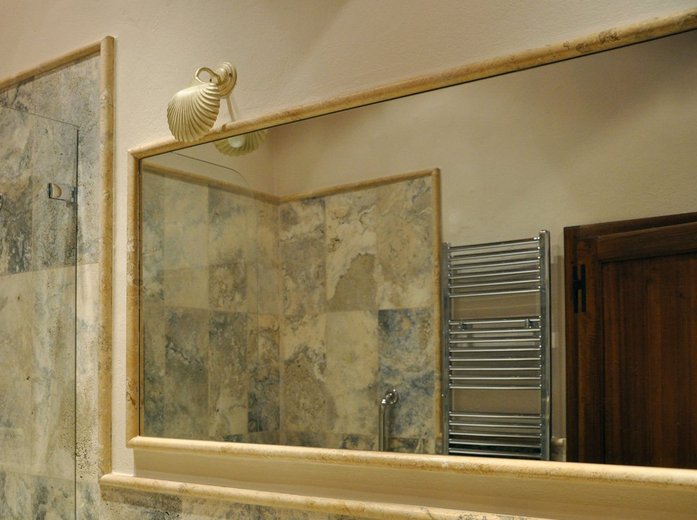 Specchio Bagno Anni 70: Specchio da bagno retroilluminato a led cm san marco.