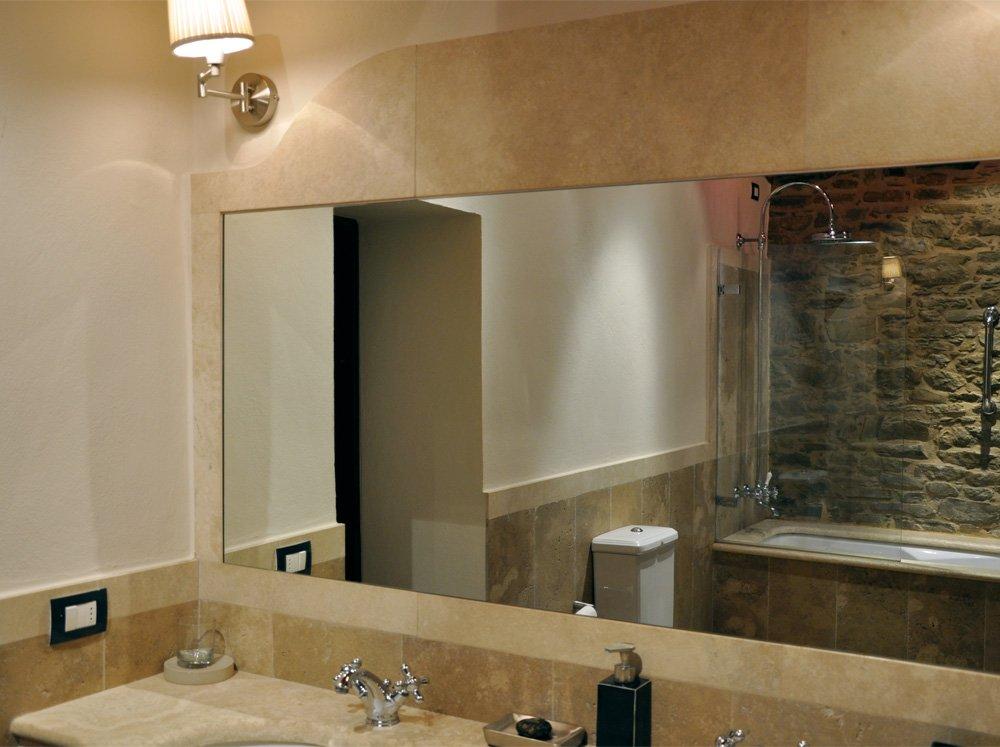 Serie di specchi incassati - Specchi retroilluminati per bagno ...